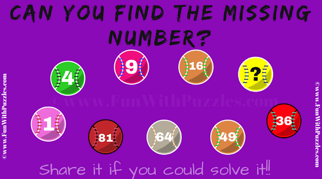 It is number balls sequence math puzzle in which one has to find the missing number in given series