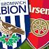 18:30 West Bromwich - Arsenal Live  England Premier League