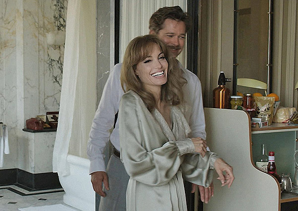 "New footage: Angelina Jolie and Brad Pitt in the movie ""By the Sea"""