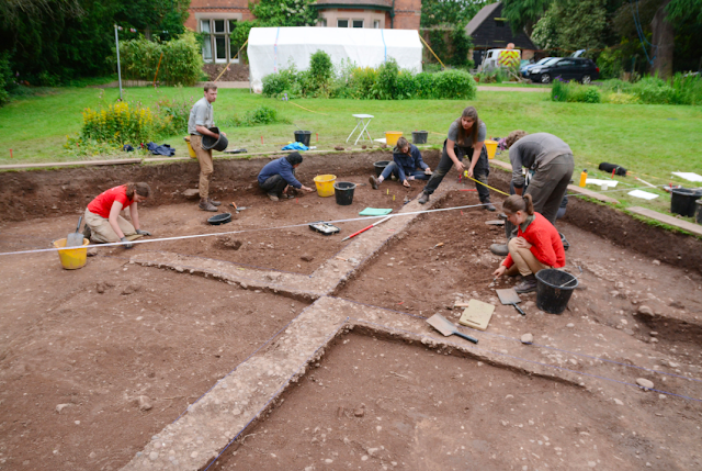 Remains of Viking camp unearthed in English village of Repton
