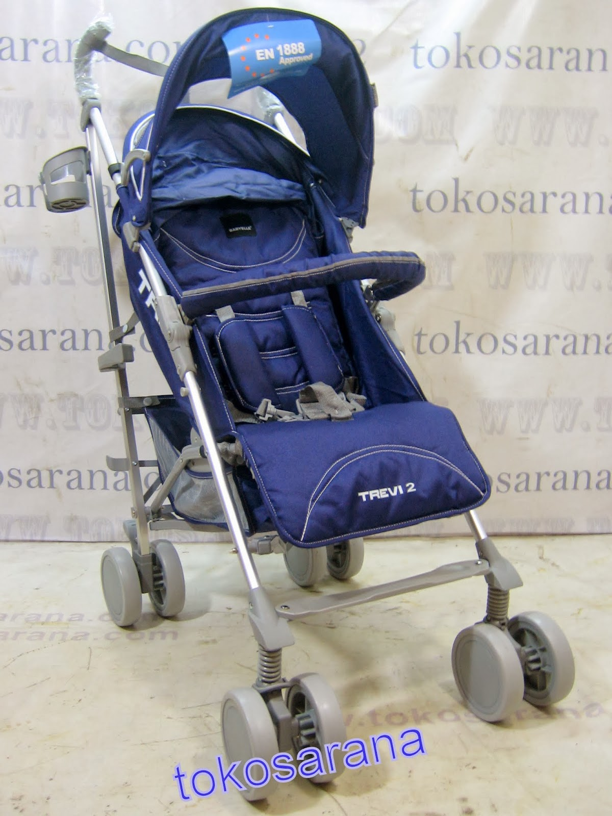 Kereta Bayi BabyElle S501 Trevi with Travel Bag 2
