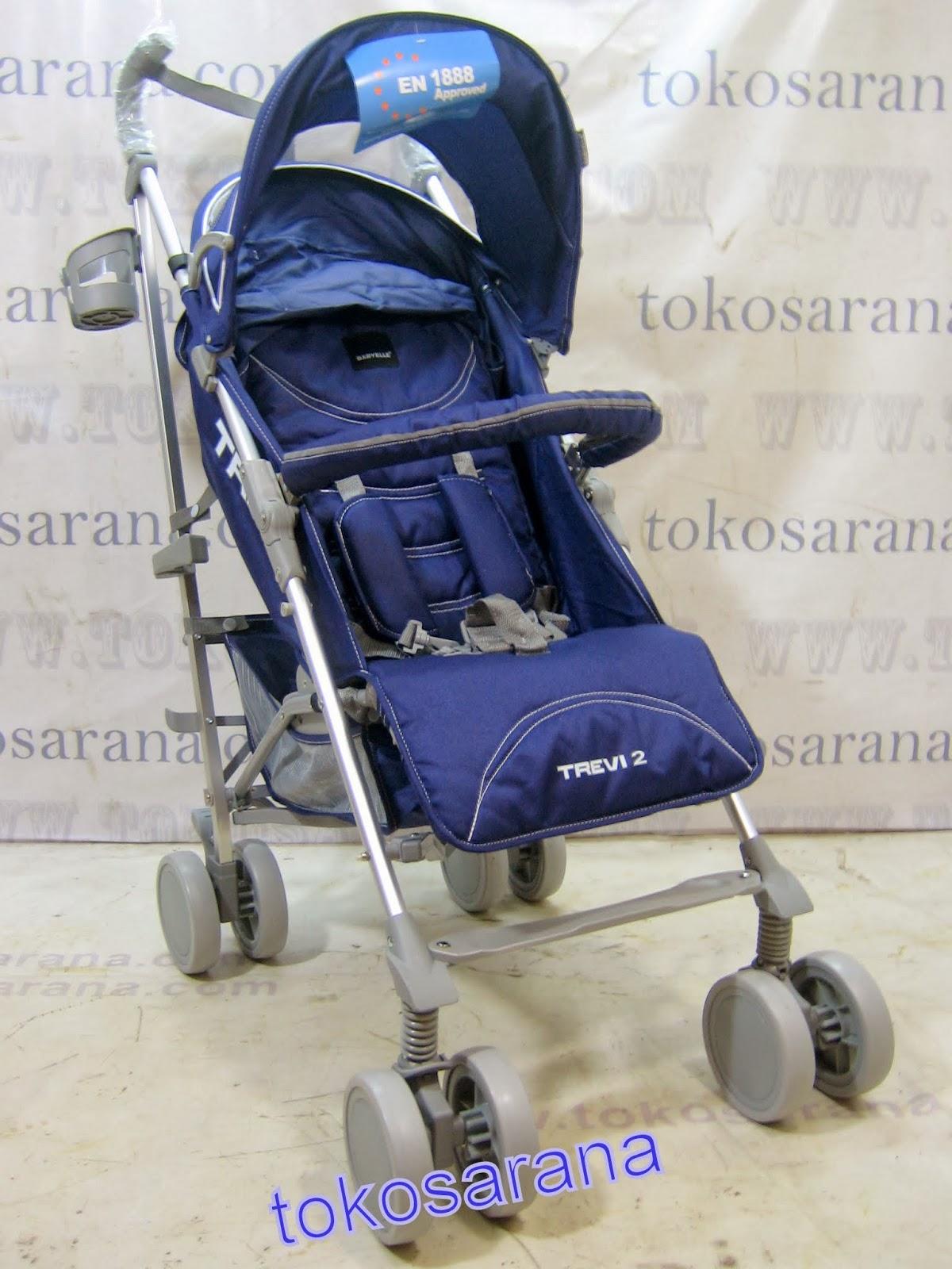Kereta Bayi BabyElle S501 Trevi with Travel Bag 2