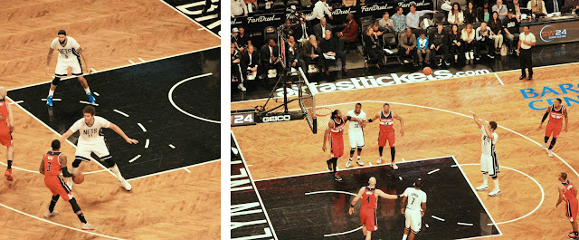 My Travel Background : Une semaine à New York : Barclays Center Brooklyn Nets vs Wizard