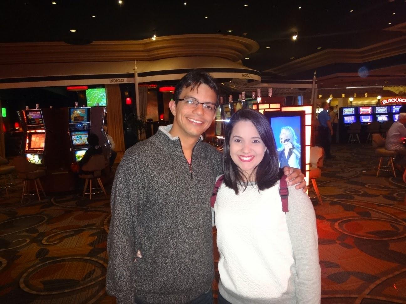 cassino do hotel Ballys em Las Vegas