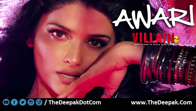 Awari, Hindi song from the movie Ek Villain Featured Prachi Desai