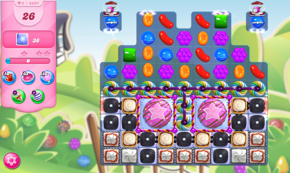 Candy Crush Saga level 6297