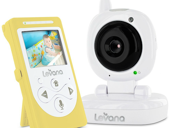 See and Hear Your Little Ones with a Levana Sophia Monitor {Giveaway - US - Ends 4/6}
