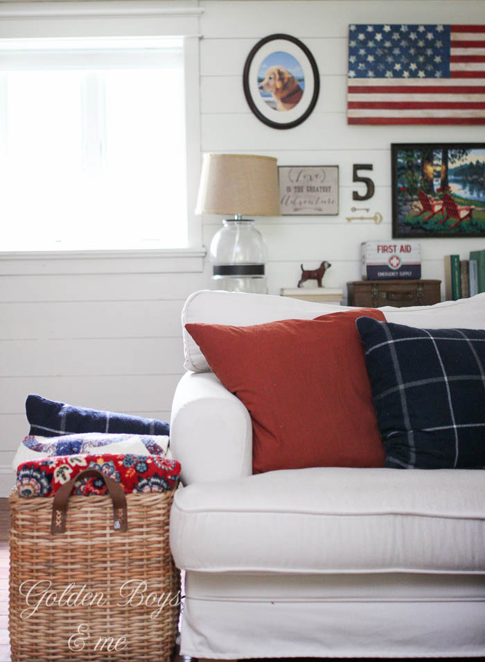 Americana family room ideas