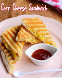 Corn cheese sandwich recipe