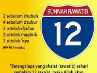 12 Rakaat Berhadiah Istana Di Surga