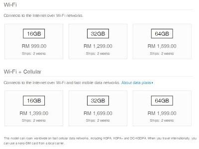 iPad Mini - Harga iPad Mini Di Malaysia