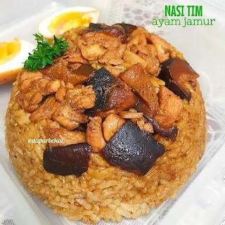 Ide Resep Masak Nasi Tim Ayam Jamur