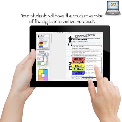 Are you interested in making a low prep teacher's edition digital interactive notebooks to created guided notes for your class? Then you're going to love these steps! Perfect for any classroom teacher who uses digital interactive notebooks in their classroom! This paperless system works in the 4th, 5th, 6th, 7th, 8th, 9th, 10th, 11th, or 12th grade classroom! Click through for more details now!