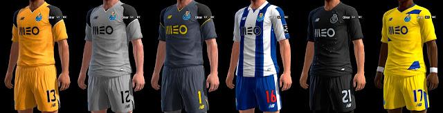 PES 2013 FC Porto GDB 2016-17 by ABIEL