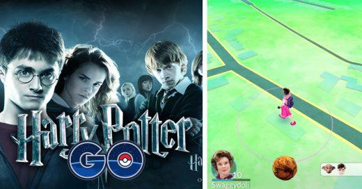 Vuelven trending la petición de un juego de Harry Potter Go
