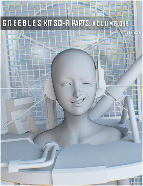 Greebles Kit: Sci-fi Parts Vol.1