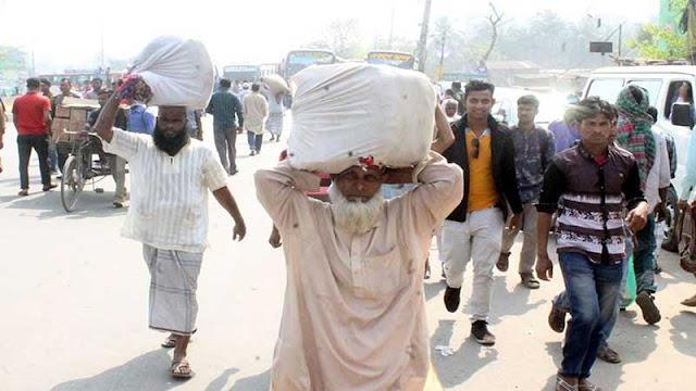র্যাব-পুলিশকে পাত্তা দিচ্ছে না পরিবহন শ্রমিকরা