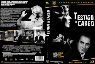 Carátula dvd: Testigo de cargo (1957) Witness for the Prosecution
