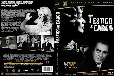 Carátula dvd: Testigo de cargo (1957) Witness for the Prosecution