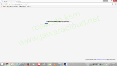 loading email di google, cara membuat email lengkap tanpa verifikasi no. telepon