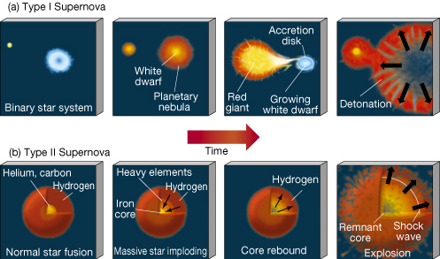 supernova type 1a explosion mechanisms - photo #13