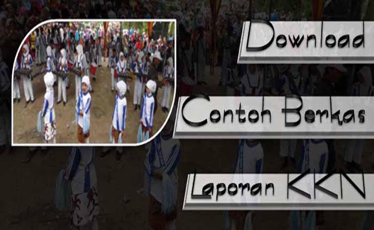 Download Contoh Berkas Laporan KKN