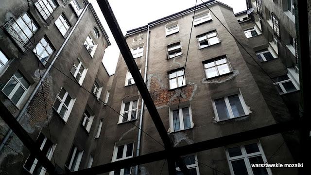 Warszawa Warsaw Wola kamienica ostaniec opuszczone architektura