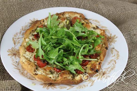Matkick: Pizza Blanco Med Körsbärstomater Och Sparris