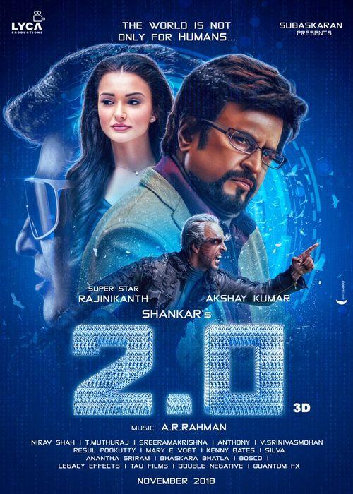 Robot 2 0 2019 Hindi 720p HDrip (Action, Sci-Fi, Thriller) 20XMovies
