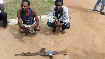 Photos: Police rescue 2-year-old kidnap victim in Benue; arrests six robbers who gang raped girl before her parents and killers of Rtd Army Major, Police ASP