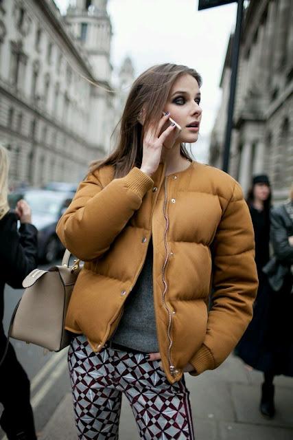 fall, fall trends, autumn, jesienne tendencje, jesienne inspiracje, kurtka puchowa, puffer jacket, jesień 2016, jak nosić, puchówka