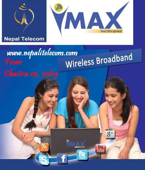 NT WiMAX for general users from Chaitra 14  - NepaliTelecom