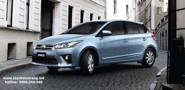Toyota Yaris là mẫu xe đô thị rất được ưa chuộng tại Việt nam