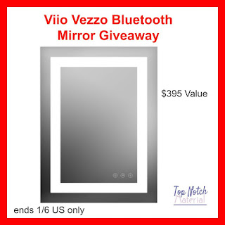 Enter the Viio Vezzo Bluetooth Mirror Giveaway. Ends 1/6