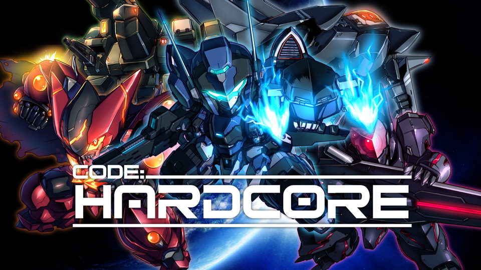 Code: HARDCORE - 2D Mecha Platformer on Steam Greenlight and Kickstarter