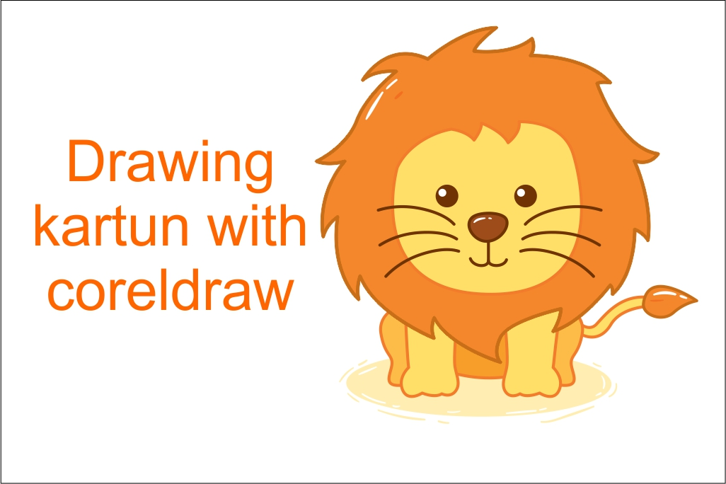 550+ Gambar Kartun Binatang Singa Terbaru