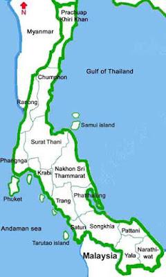 thailand selatan, southern thai, dialek, aksen, thai, fakhri.id