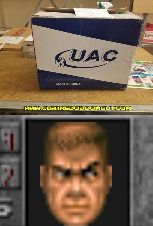 Encomenda da UAC