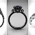 25 Originales anillos de compromiso que volverán loca a cualquier chica que ame el negro