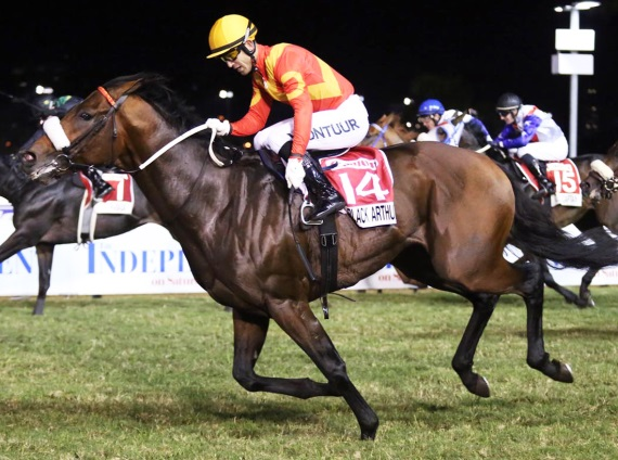 Black Arthur - Vodacom Durban July 2016 - Trained by Justin Snaith