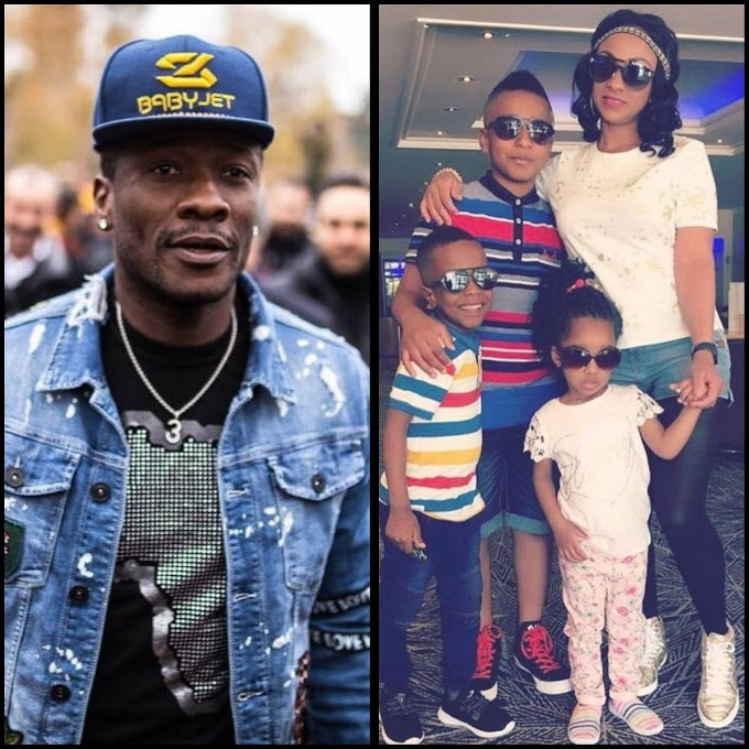 Asamoah Gyan files for divorce after 5 years, demands a DNA test to prove he's the father of his 3 kids