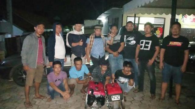 Polisi Ringkus Komplotan Pencuri Mesin Traktor di Soppeng