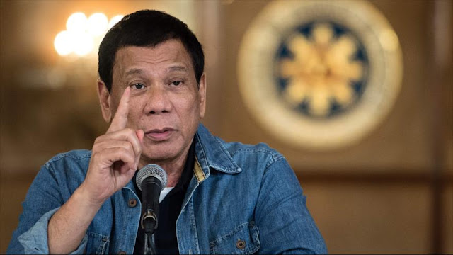 "Duterte denuncia arsenal ""permanente"" de EEUU en Filipinas"