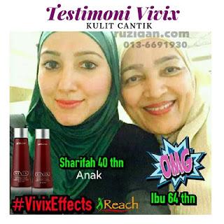 Testimoni Vivix Untuk Kulit Cantik