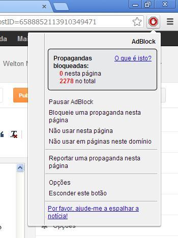 Adblock Plus - Bloquear a Visualização de Anúncios no seu Navegador