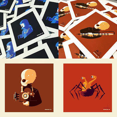 "Gallery 1988 presents ""Bust'd: 2 Bust'd with a Vengeance"" Solo Art Show by Tom Whalen"