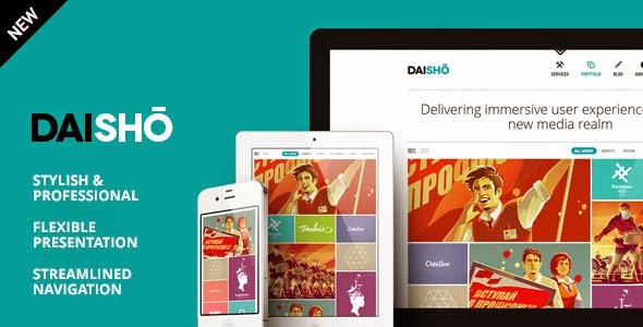 Daisho v2.0.1 Flexible WordPress Theme