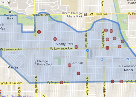 The Albany Park Post News And Maps On Gang Related Homicides