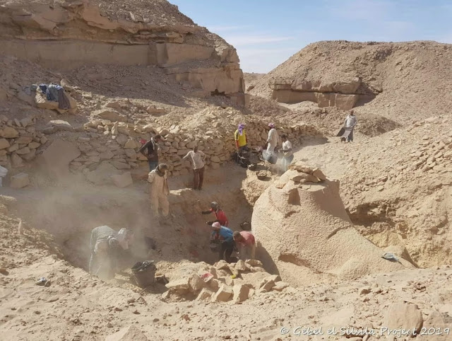 New Kingdom workshop discovered in Egypt's Gebel el-Silsila