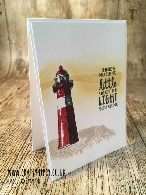 How to create this High Tide card, using the High Tide stamp set and Classic Stampin' Pads from Stampin' Up!